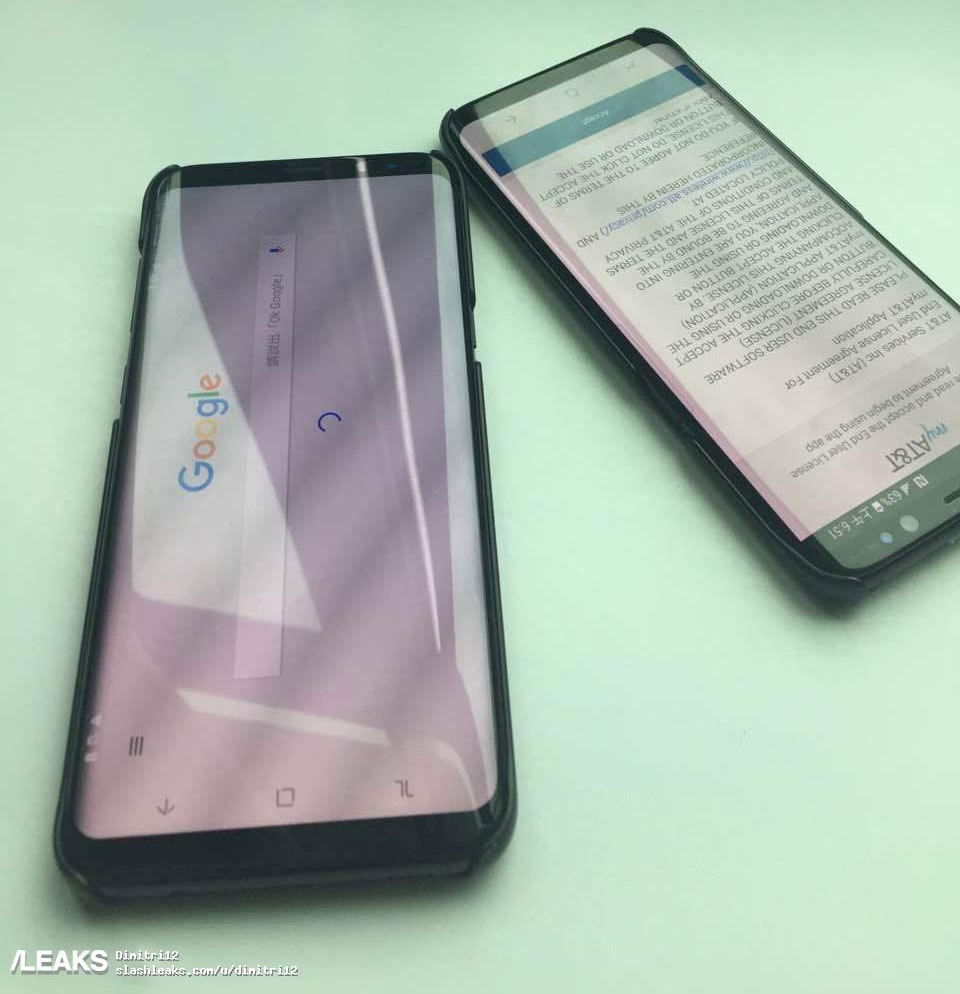 Samsung galaxy s8, galaxy s8 leaked images,